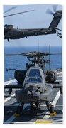 An Army Ah-64d Apache Helicopter Takes Bath Towel
