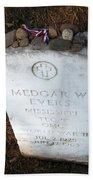 Medgar Evers -- An Assassinated Veteran Bath Towel