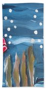 Art Fish Bath Towel