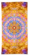 Sun Sparkle Mandala  Bath Towel