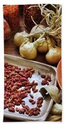 Assorted Spices Bath Towel