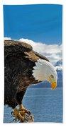 Bald Eagle Bath Towel