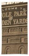 Baltimore Orioles Park At Camden Yards Bath Towel