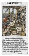 Barber-surgeon, 1568 Bath Towel