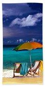Beach Umbrella Bath Towel