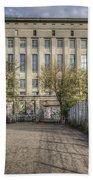 Berghain Club In Berlin Bath Towel