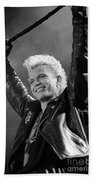 Billy Idol Bath Towel