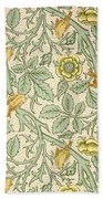 Bird Wallpaper Design Bath Towel