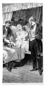 Blood Transfusion, 1874 Hand Towel