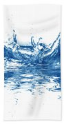 Blue Fresh Water  Hand Towel