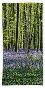 Bluebell Forest Bath Towel