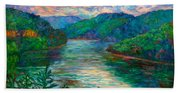 Bluestone Lake Bath Towel