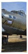 Boeing B-17g Flying Fortress Bath Towel
