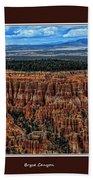 Bryce Canyon II Bath Towel