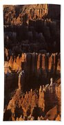 Bryce Canyon National Park Hoodo Monoliths Sunrise Southern Utah Bath Towel