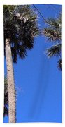 Cabbage Palms Bath Towel