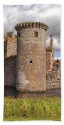 Caerlaverock Castle Bath Towel
