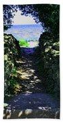 Cana Island Walkway Wi Bath Towel