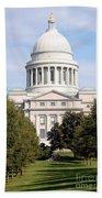 Capitol Building In Little Rock Bath Towel