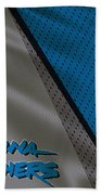 Carolina Panthers Uniform Bath Towel