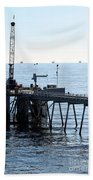 Carpinteria Pier Bath Towel