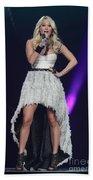 Singer Carrie Underwood Bath Towel