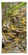 Cheakamus Rainforest Debris Bath Towel