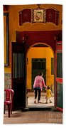Chinese Temple In Ho Chi Minh Vietnam Bath Towel