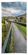 Chirk Aqueduct Bath Towel