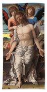 Christ As The Suffering Redeemer  Bath Towel