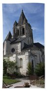 Church - Loches - France Bath Towel