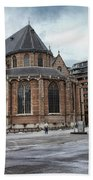 Church Of St Lawrence In Rotterdam Bath Towel