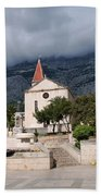 Church Of St.mark Makarska Bath Towel