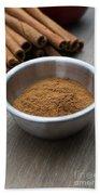 Cinnamon Spice Bath Towel