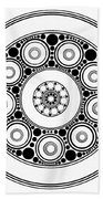 Circle Motif 138 Bath Towel