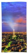 City Of Lights Bath Towel