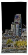 City Of London Art Bath Towel