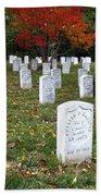 Civil War Dead At Arlington Bath Towel