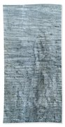 Close-up Of A Metal Wall Surface Hand Towel