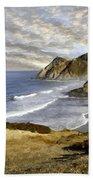 Coastal Beauty Impasto Bath Towel