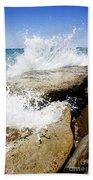 Coastal Collision Bath Towel