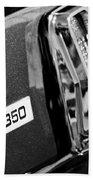 Cobra Gt 350 Taillight Emblem Bath Towel