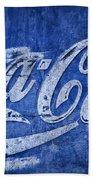 Coca Cola Blues Bath Towel