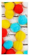 Colorful Bonbons Bath Towel