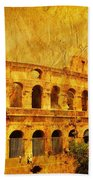 Colosseum Bath Sheet by Stefano Senise