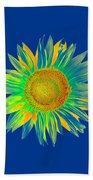 Colourful Sunflower Bath Towel