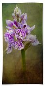 Spotted Orchid Bath Towel