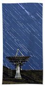 Communications To The Stars Bath Towel