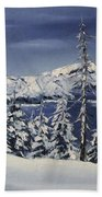 Crater Lake Bath Towel