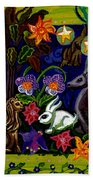 Creatures Of The Realm Bath Towel